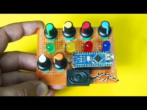 Best Arduino Project - DIY 4 Step Sequencer
