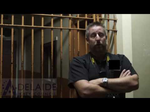 Haunted Buildings in Adelaide: Oral History - Old Adelaide Gaol-Darren Bacchus