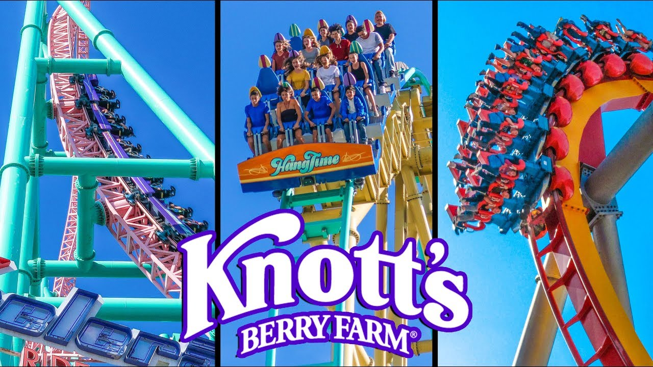 Top 10 Fastest Rides Roller Coasters At Knott S Berry Farm Youtube