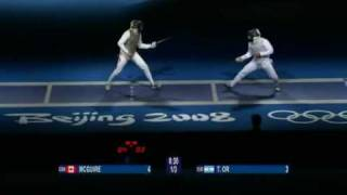 Beijing 2008 - MFI - L32 - Or ISR v McGuire CAN - 1 of 2