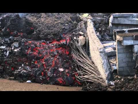 Pico do Fogo: Volcano destroyed houses