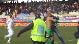 """Tafferugli Gubbio-Frosinone da """"Fuorigioco"""""""