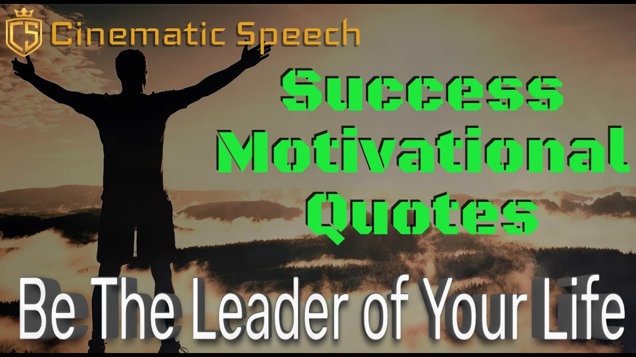 Be The Leader of Your Life | 15 Success Motivational Quotes Video