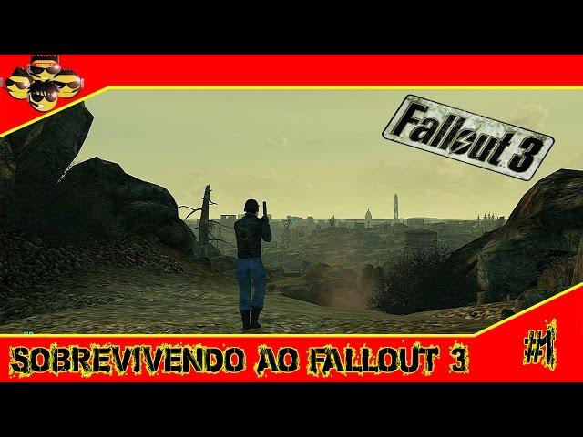 Sobrevivendo ao Fallout 3 #1 - Conhecendo Megaton