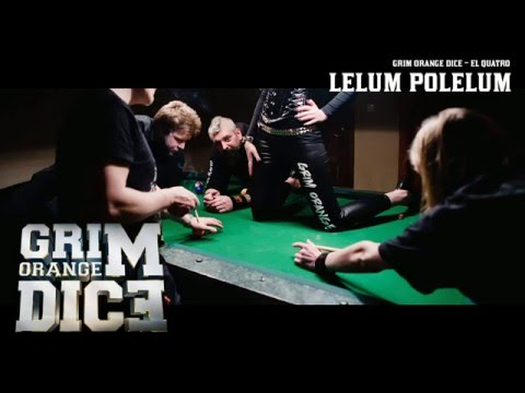 Grim Orange Dice - Lelum Polelum