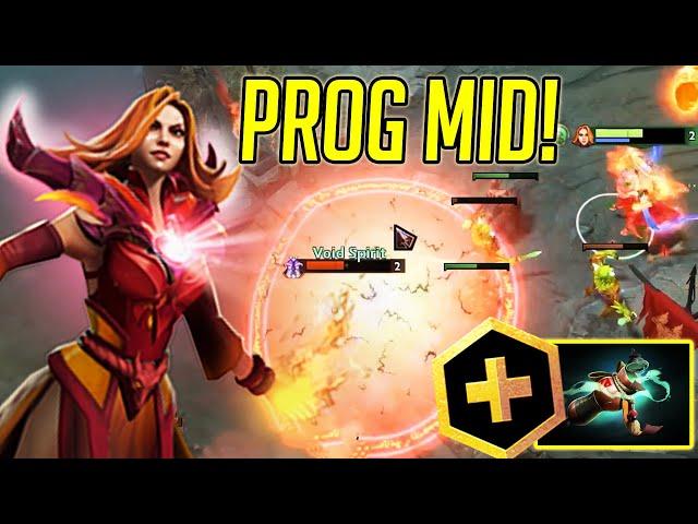 Prog back on mid and Dota Plus Update