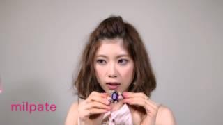簡単前髪ヘアアレンジ by milpate 女子のためのハッピーチャンネル