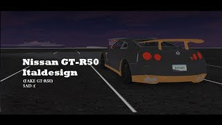 Nissan GT-R50 - Vehicle Simulator (Roblox)