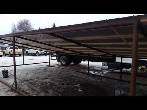 Drill pipe shed part 3
