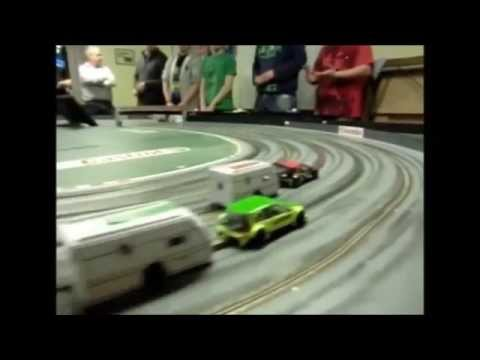 East Devon Slot Racing Club: Party & Caravan Racing