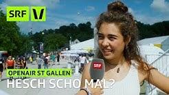 Openair St. Gallen: Hesch scho mal? | Festivalsommer | SRF Virus