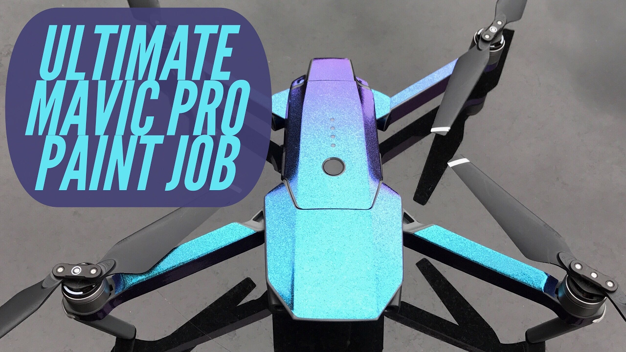 Best Dji Drone >> ULTIMATE DJI MAVIC PRO PAINT JOB! BEST SKIN EVER - YouTube
