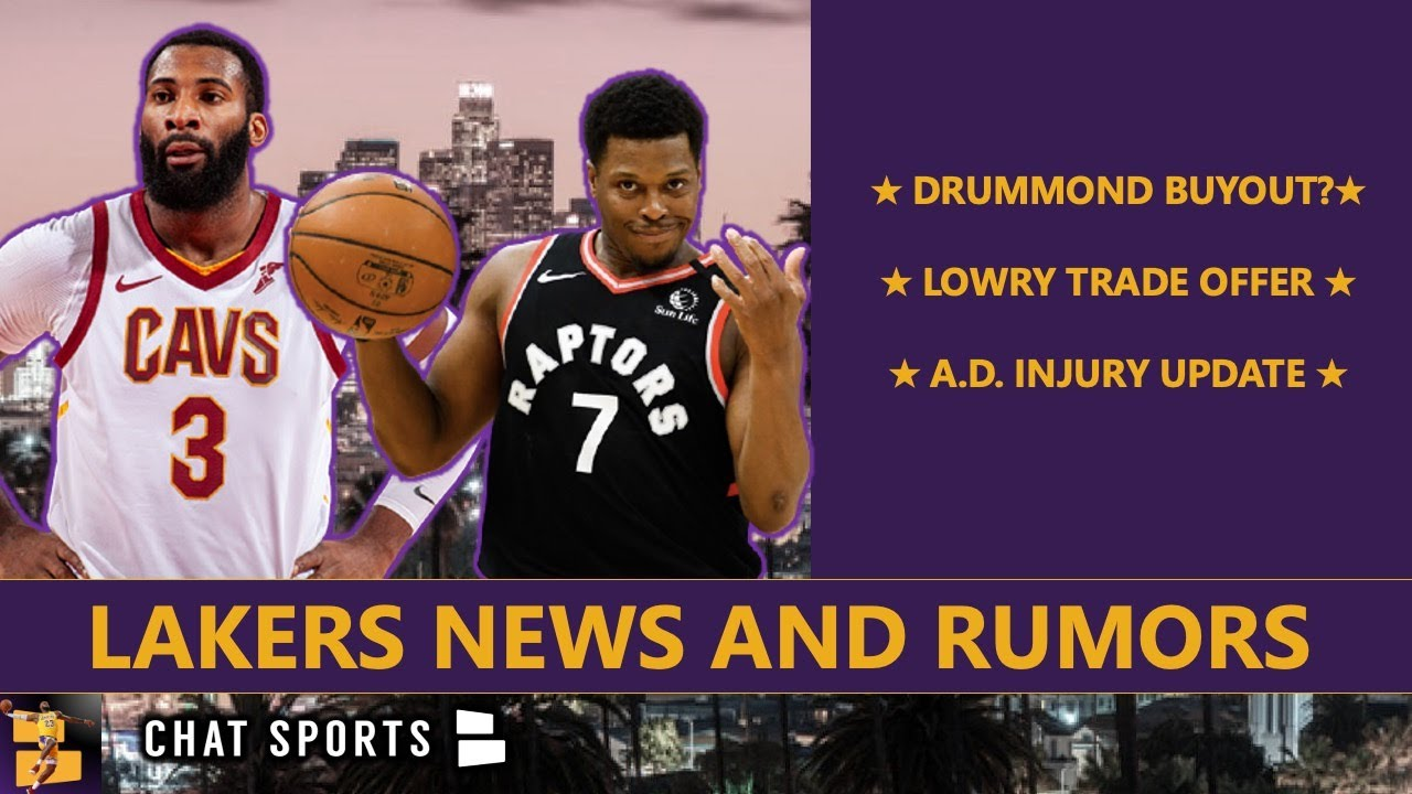 Andre Drummond injury update: Lakers' new center expected to ...