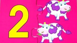 Учимся считать - Цифра 2 - Математика для малышей
