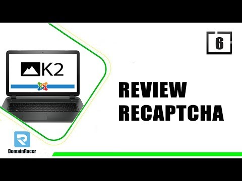K2 For Joomla 006 : Enable Recaptcha & Add Review Section