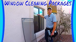 Residential Window Cleaning Packages
