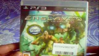 UNBOXING - ENSLAVED : ODYSSEY TO THE WEST PS3 #72