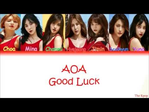 AOA (에이오에이) – Good Luck (굿럭) Color Coded Lyrics [HAN|ROM|ENG]