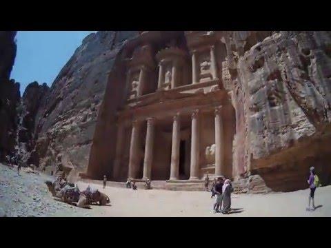 Amman and Petra, Jordan - April 2016