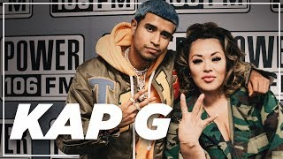 """Kap G Announces a Pharrell Collab, Talks """"A Day Without A Mexican"""" Song + Importance of Voting"""