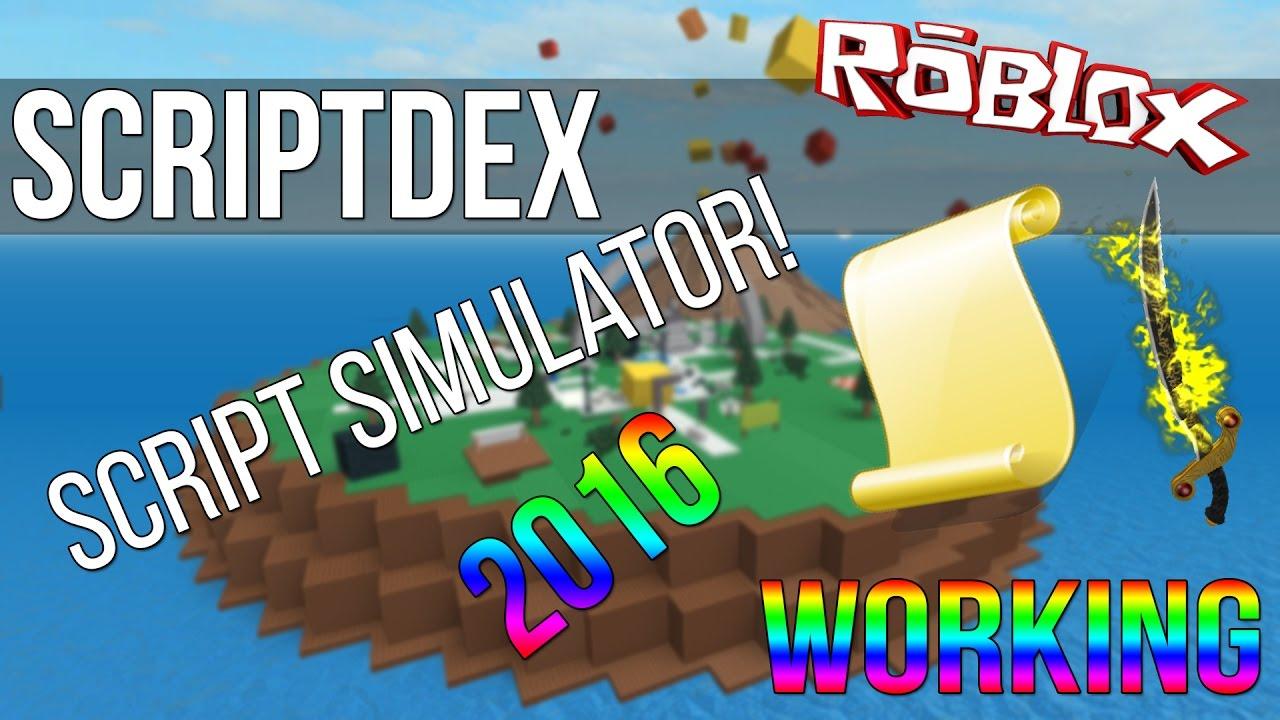 ROBLOX Simulator: Scriptdex (LUA SCRIPTS) (NEW) (LEVEL 7