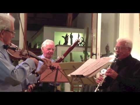 Le Trio Fernandréguy  (Ch.Huguenin, W.A.Mozart et  G. Auric)
