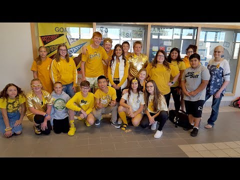 Carmichael Middle School Goes Gold For Cancer Awareness