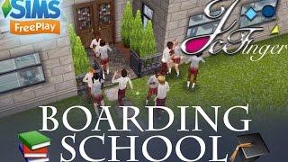 sims freeplay boarding school original design by joy