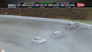 ARCA Racing Series 2017. Winchester Speedway. Dalton Sargeant Crash