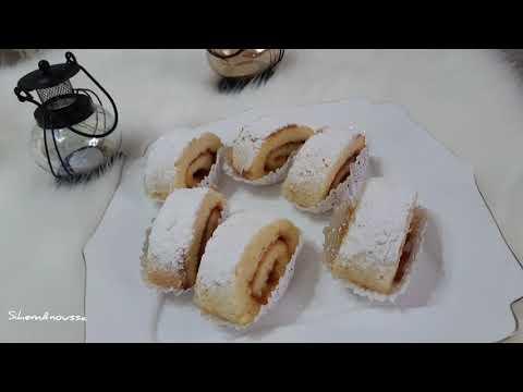 كيما-ليتباع-فالمحلاتبيسكوي-روليcomment-faire-un-gâteau-roulé-suisse-/recette-de-gâteau-roulé-de-base