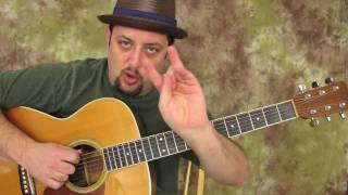 Blues Guitar Scales - Acoustic - Ultimate E Blues Run