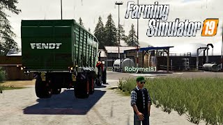 FS19 WOODSHIRE #97 - A LAVORO CON ROBYMEL81 - GAMEPLAY ITA