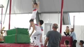 Соревнования по спортивной гимнастике г. Нальчик - разряд мальчики (ноябрь 2017г.)
