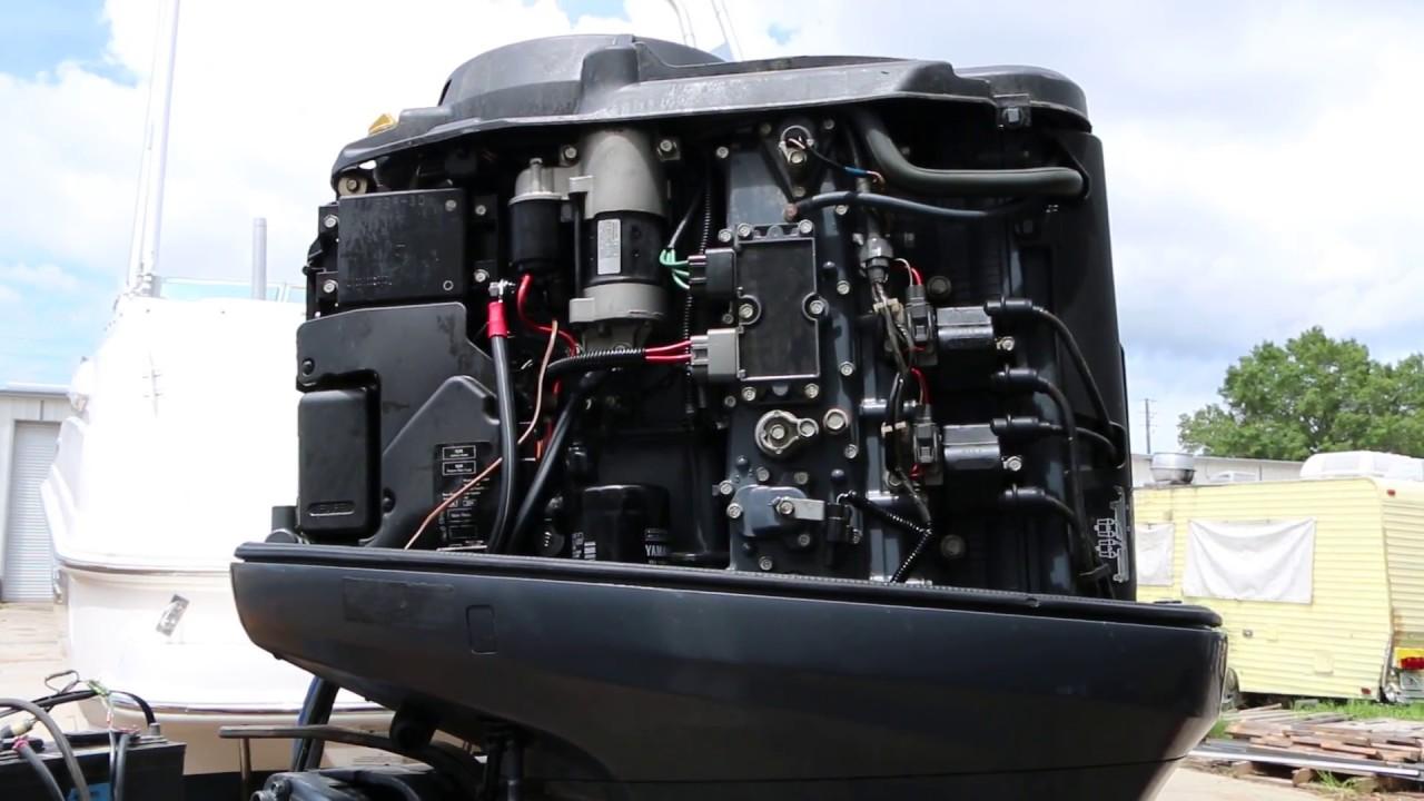 Yamaha 150 4-stroke Outboard Motor