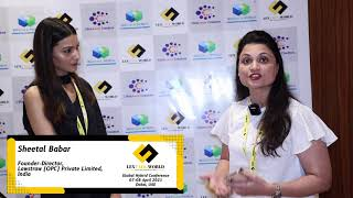 Ms. Sheetal Babar sharing her thoughts on the LexTalk World Conference, Dubai 2021