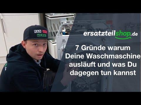 Waschmaschine Läuft Aus Fehleranalyse Youtube
