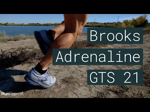 Your Go To Stability Shoe! Brooks Adrenaline GTS 21 (3-Minute Review)