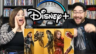 Disney+ Marvel BIG GAME SPOT - Falcon & Winter Soldier, WandaVision, Loki Reaction /Review