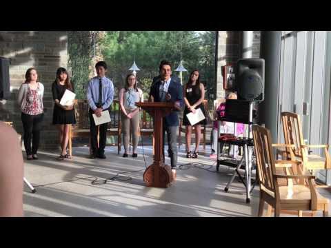 Alec Martinez - Truman Scholarship Acceptance Speech - Cornell University