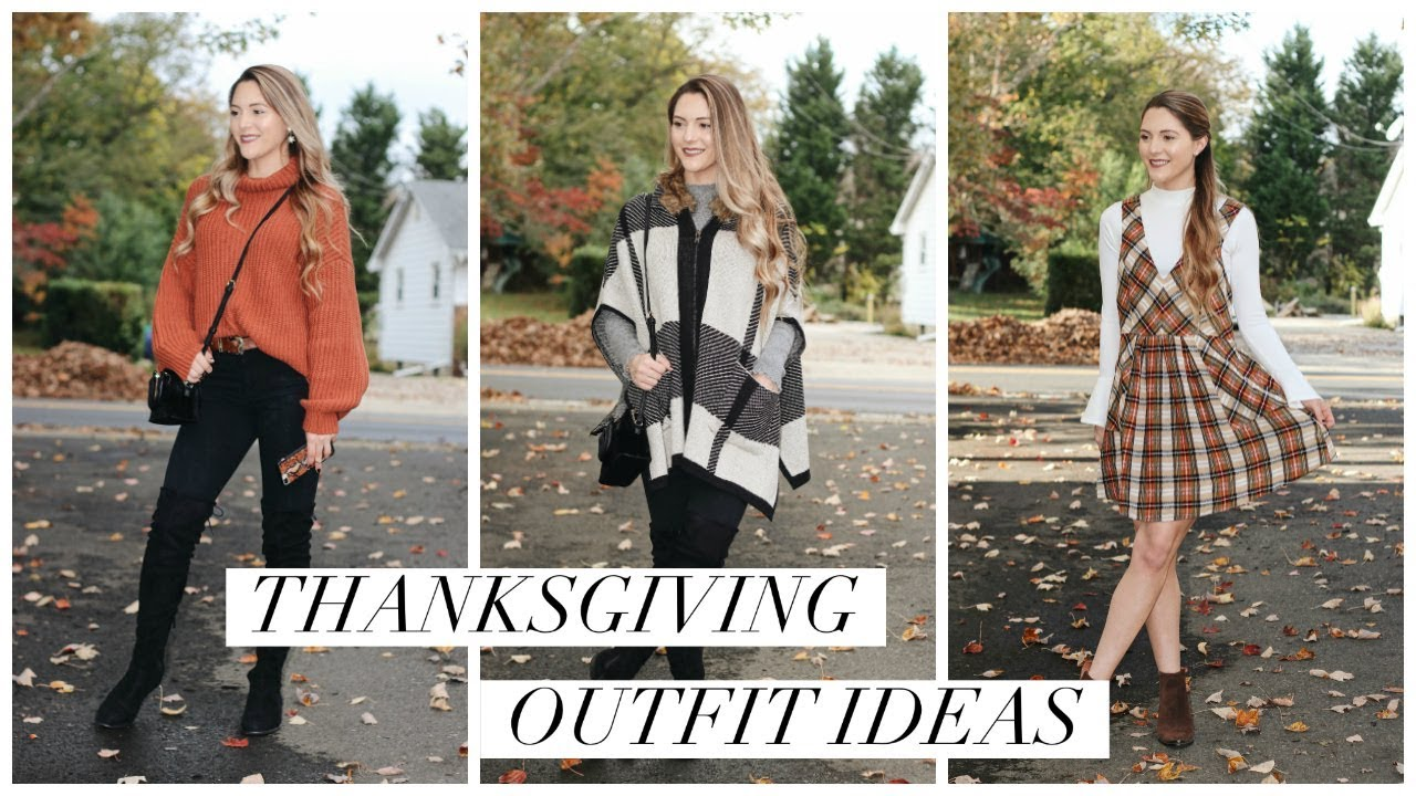 [VIDEO] - FALL OUTFIT IDEAS FOR THANKSGIVING || Noel Labb 2
