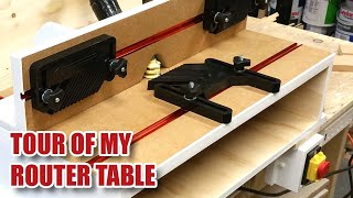 A Tour of my Awesome Router Table (Using a Triton TRA001 / TRB001)