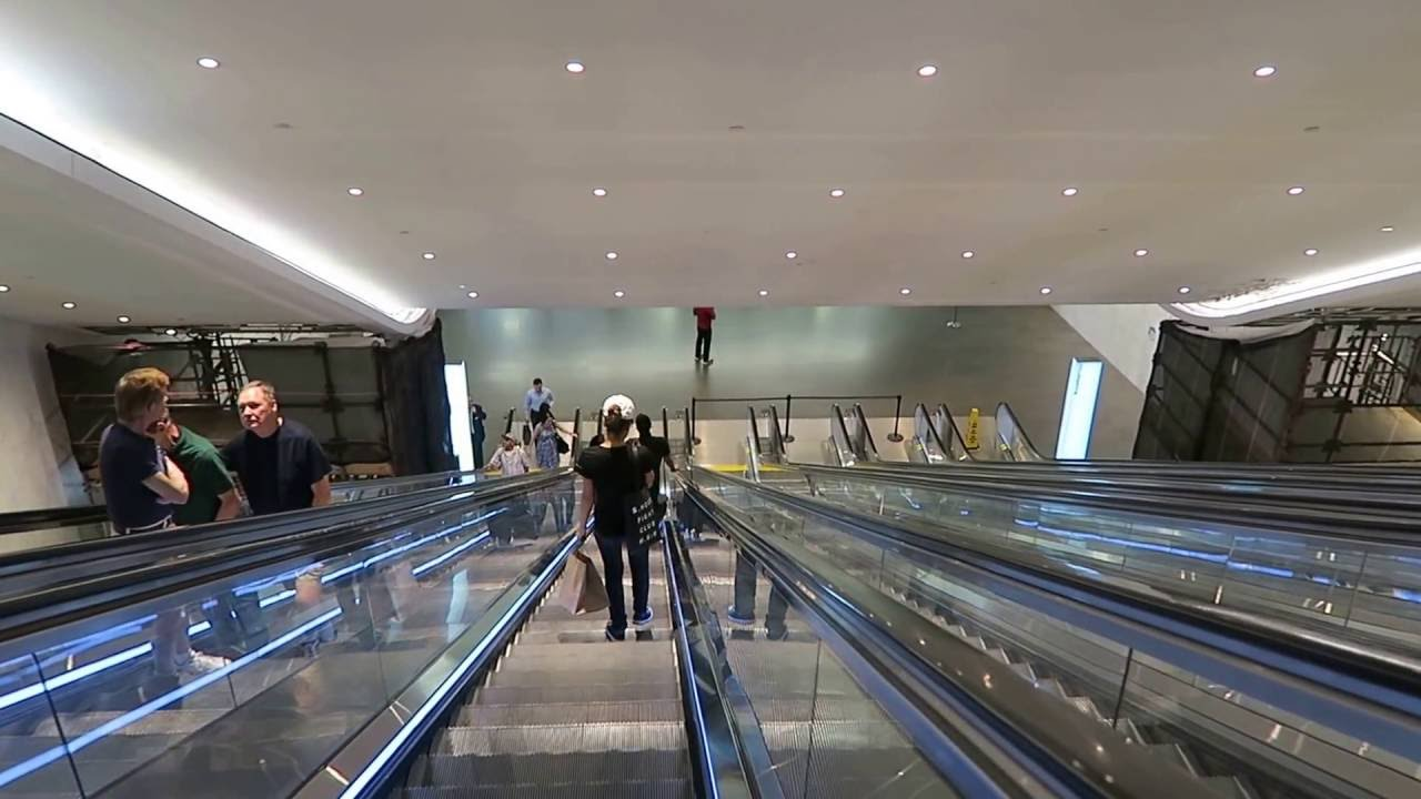 world trade center path entrance from brookfield place youtube