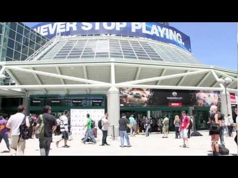 Opening E3 2012 / Convention Center / Los Angeles CA.