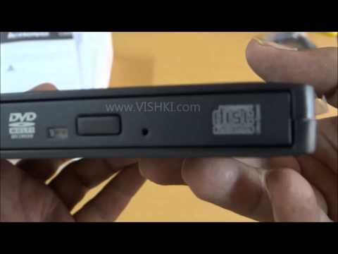 Lenovo DB60 External USB DVD Writer/Burner - Unboxing