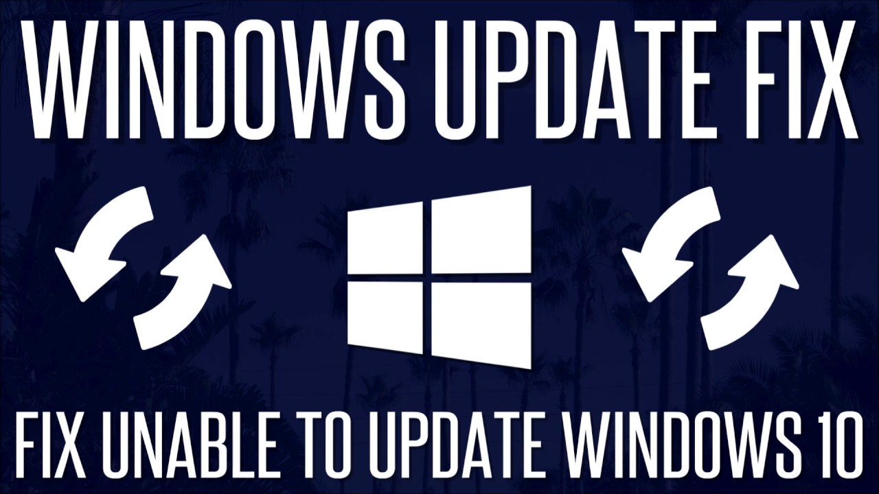 FIX - Windows 10 Won't Update - How to Update Windows 10 Manually | 2019