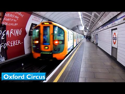 London Underground: Oxford Circus | Victoria line (2009 Tube Stock)