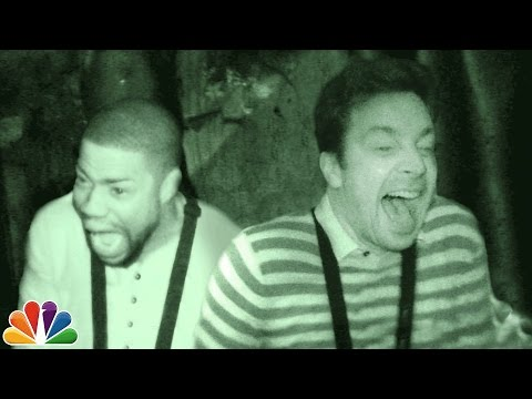 Видео: Jimmy and Kevin Hart Visit a Haunted House