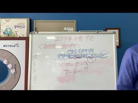 2019년 6월 9일광명23회차일요경주1R~3R경주분석