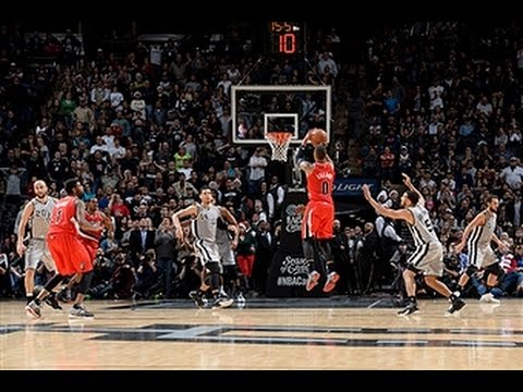 The Blazers and Spurs Duel in Another Triple Overtime Thriller