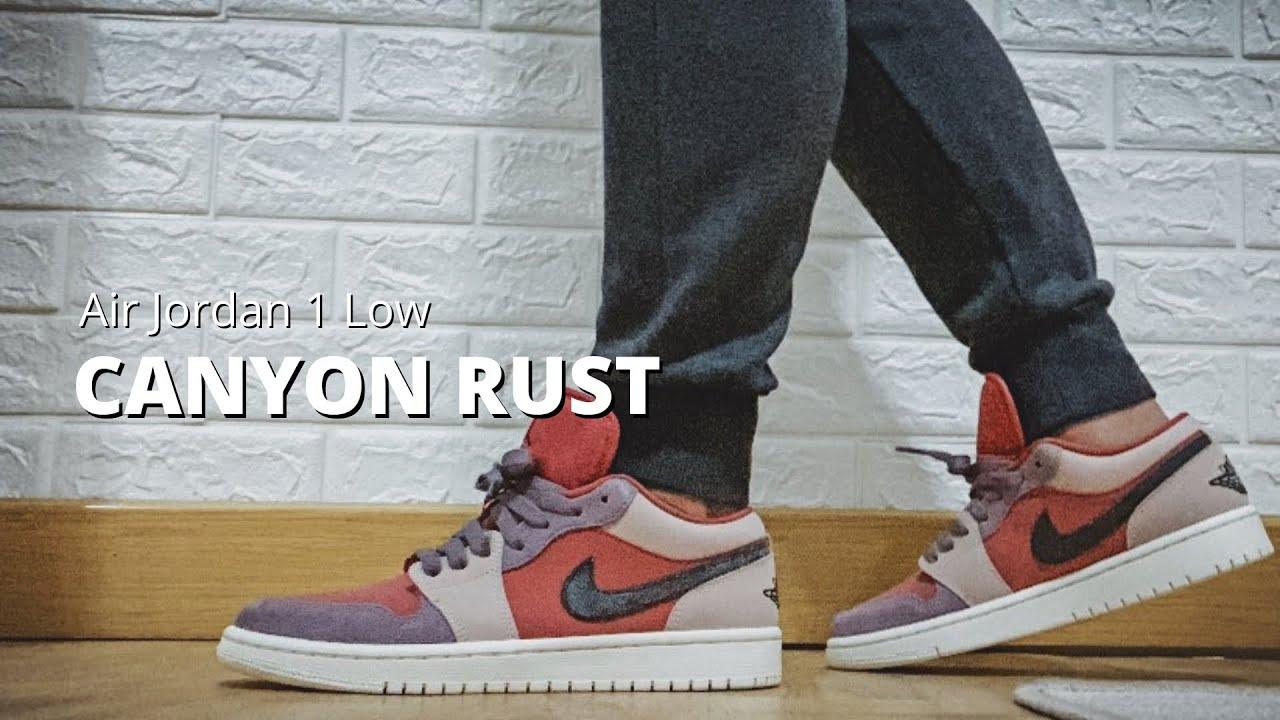 Wmns Air Jordan 1 Low 'Canyon Rust'